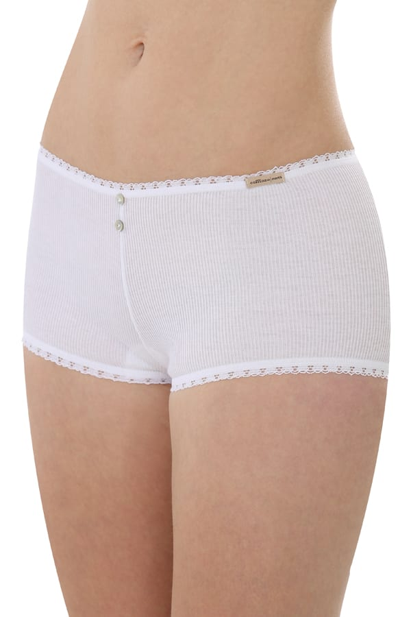 Hot-pants - Weiss von Comazo