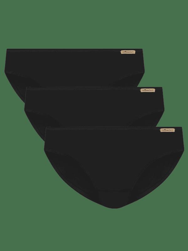 Jazz-pants 3er Pack - Schwarz von Comazo