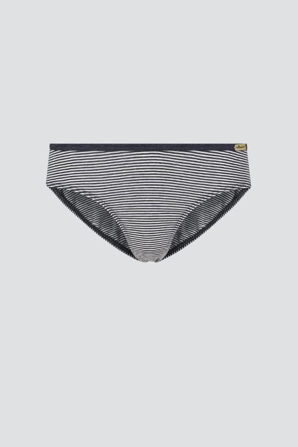 Jazz-pants Low Cut - Blau-geringelt von Comazo