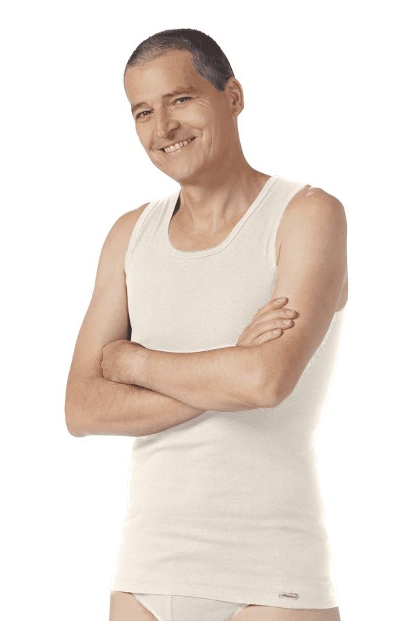 Shirt Ohne Arm - Sand von Comazo