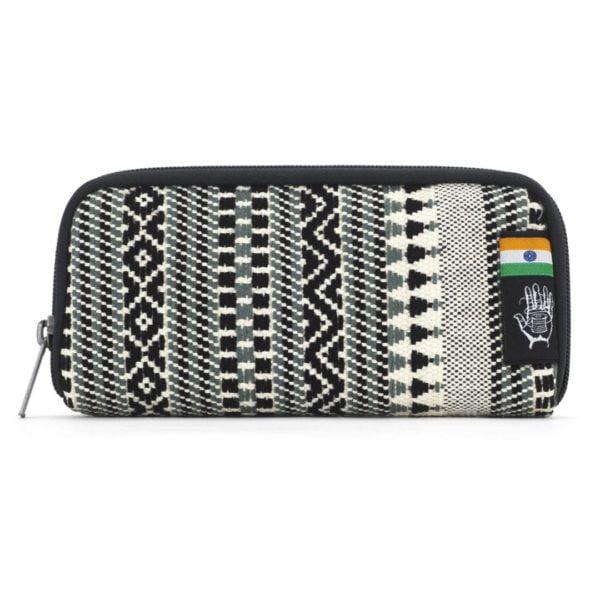 Chiburi Accordion Wallet RFID Block India 8 von Ethnotek