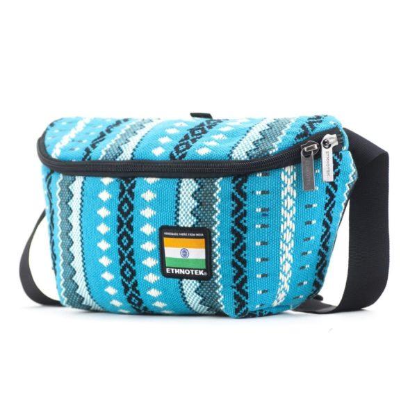 Bagus Bum Bag M Viva con Agua Blue von Ethnotek