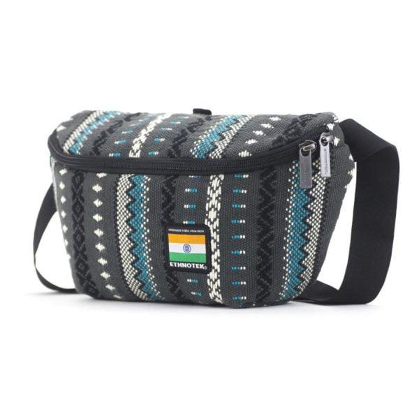 Bagus Bum Bag M Viva con Agua Grey von Ethnotek