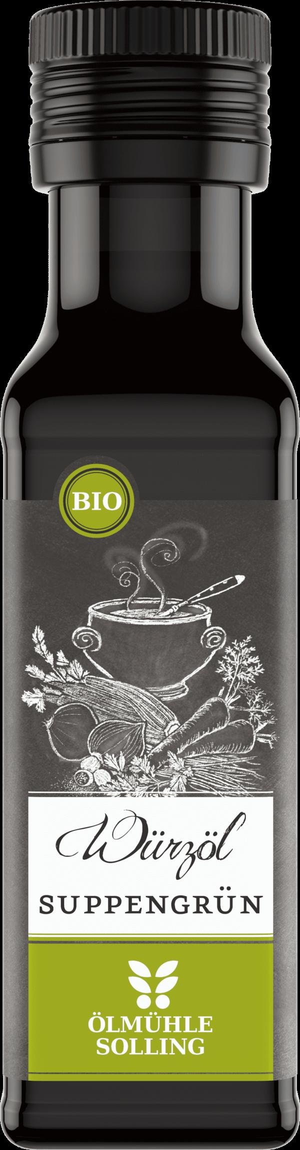 Suppengrün Würzöl 100 ml von Ölmühle Solling