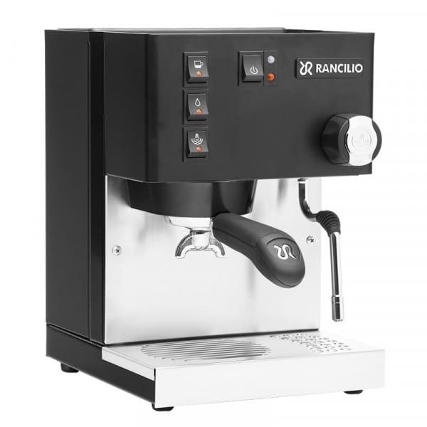 Silvia Espressomaschine schwarz von Rancilio