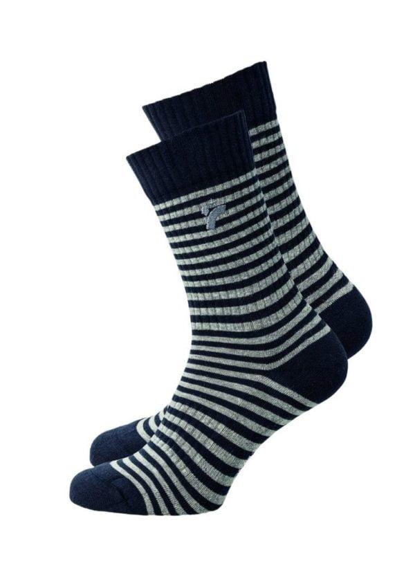 Socks CLASSIC STRIPES Black/grey von Recolution
