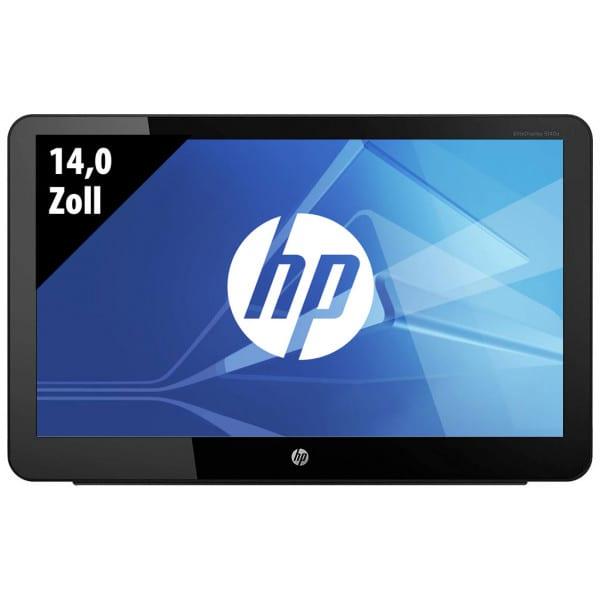 HP EliteDisplay S140u - Tragbarer USB Monitor - 14