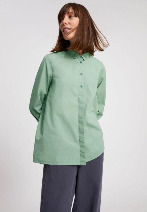 Bluse Blancaa In Sage Green von ArmedAngels