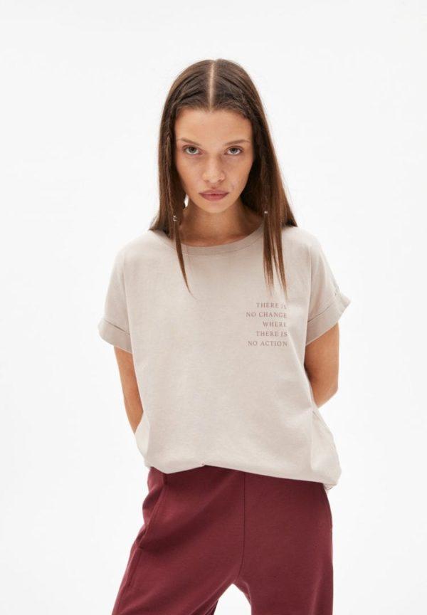 T-shirt Idaa Change For Nature In Light Desert von ArmedAngels