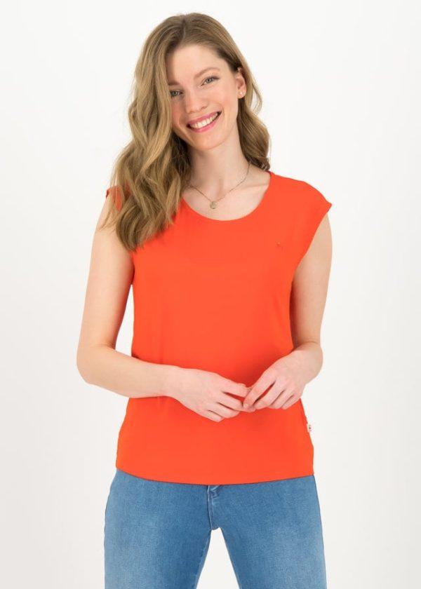 Basic Top Sailorlove Orange von blutsgeschwister