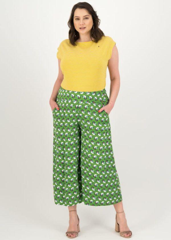 Culotte In Fully Bloom Grün von blutsgeschwister