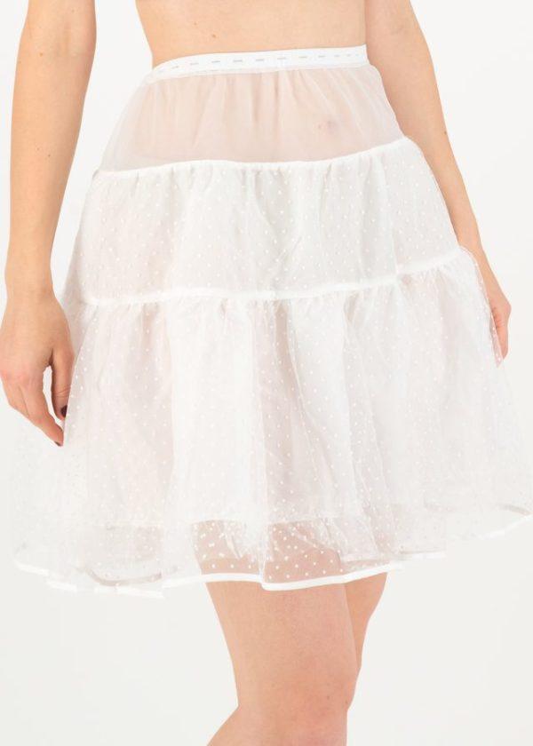 Dreamyourdream Petticoat Weiß von blutsgeschwister