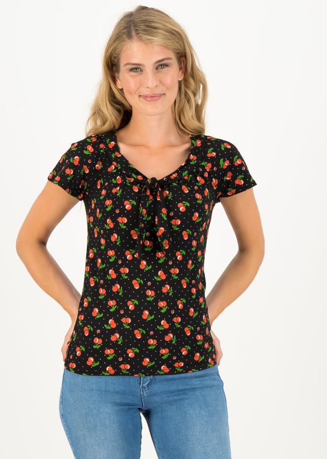 Jersey Shirt Carmelita Schwarz von blutsgeschwister