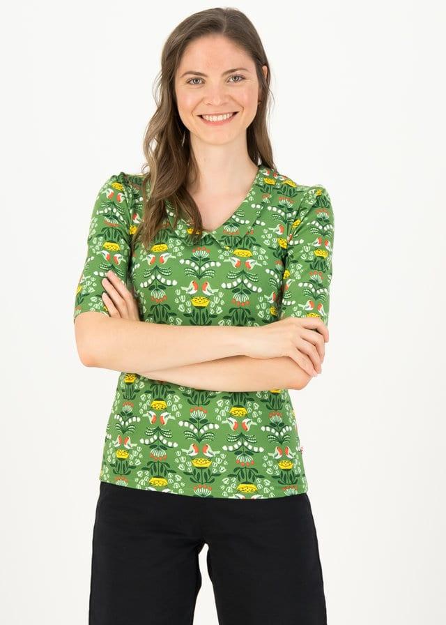 Jersey Shirt Gar So Nett Grün von blutsgeschwister