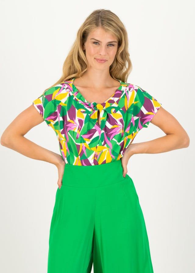 Jersey Shirt Safari Sailorette Weiß von blutsgeschwister