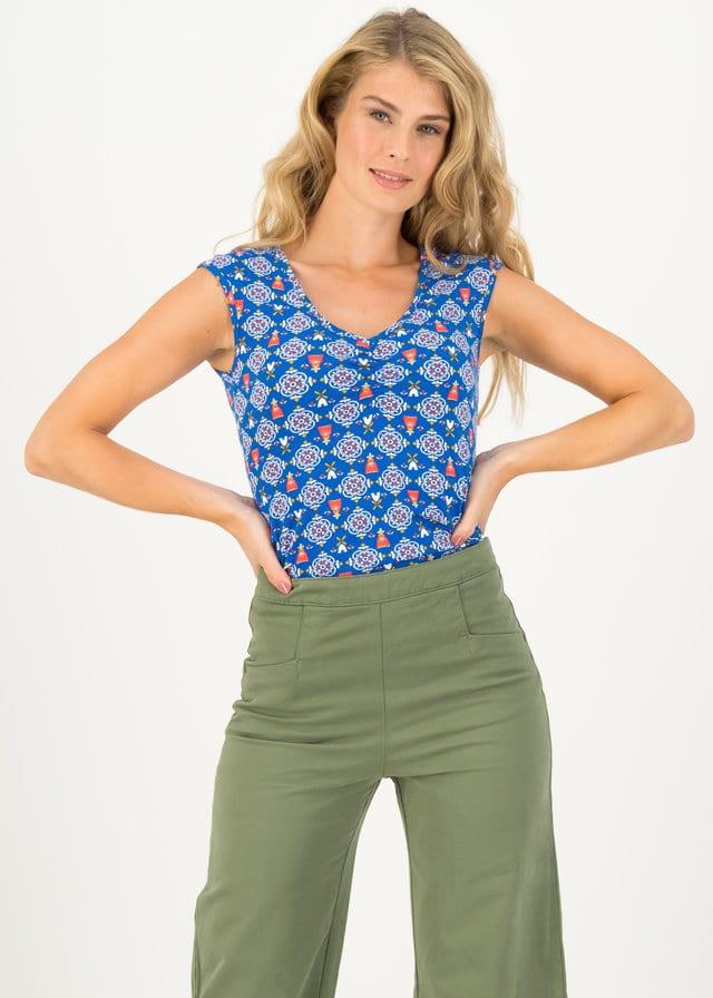 Jersey Shirt Summer Sun Blau von blutsgeschwister