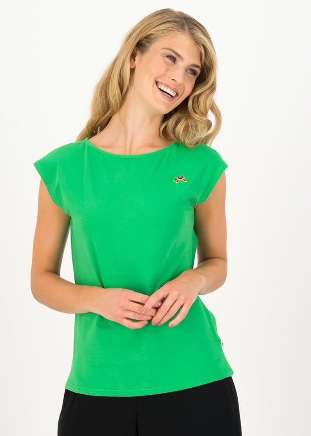 Jersey Shirt Wonderful Day Grün von blutsgeschwister