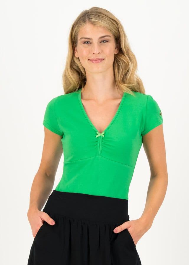 Jersey T-shirt Mon Coeur Grün von blutsgeschwister