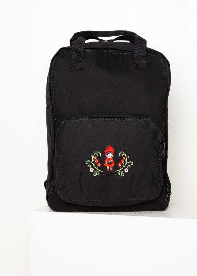 Rucksack Rotkäppchen Pack Edition Schwarz von blutsgeschwister