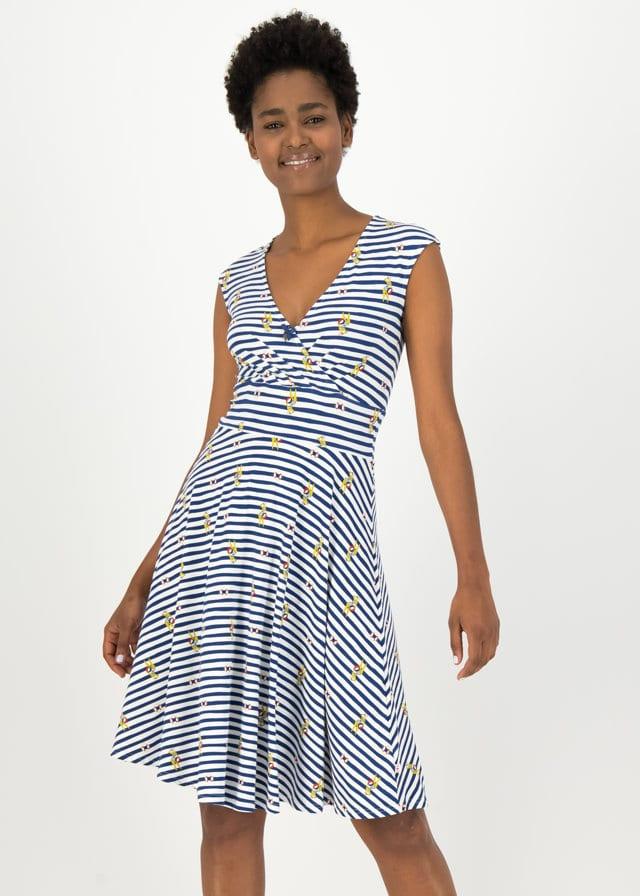 Sommerkleid Shalala Tralala Weiß von blutsgeschwister