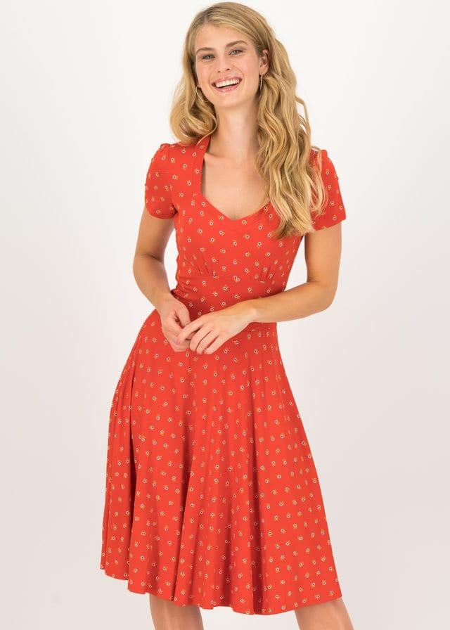 Sommerkleid Urlaub Auf Balkonien Rot von blutsgeschwister