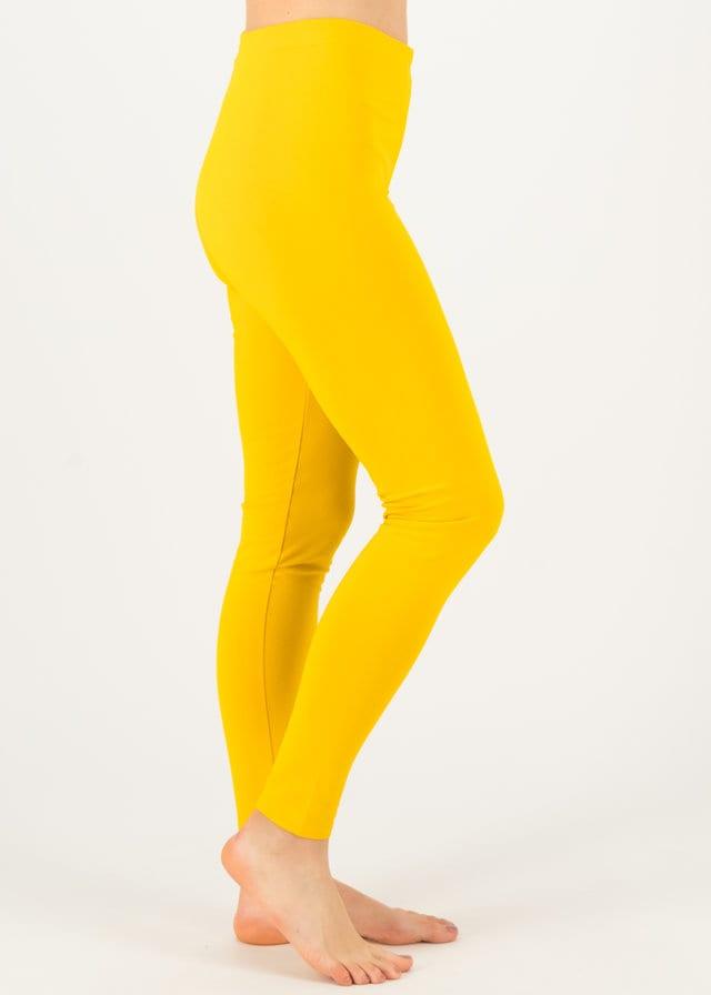 Sweat-leggings Totally Thermo Gelb von blutsgeschwister