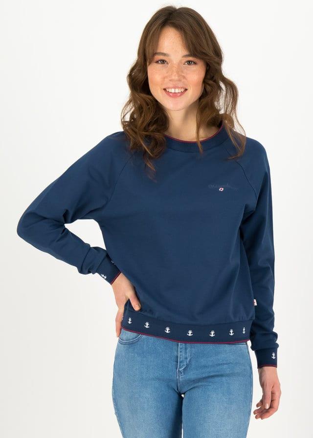 Sweatshirt Fresh 'n' Fruity Blau von blutsgeschwister