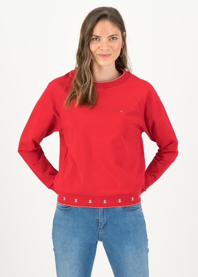Sweatshirt Fresh 'n' Fruity Rot von blutsgeschwister