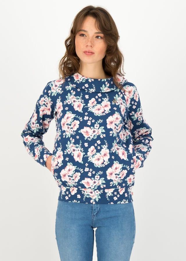 Sweatshirt How Lovely Blau von blutsgeschwister