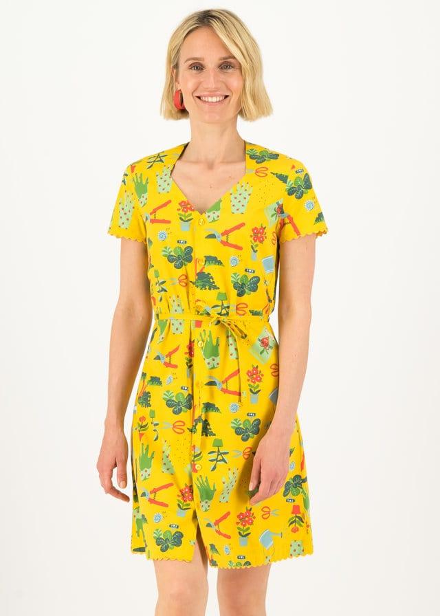Tunika-kleid Fairy In The Garden Gelb von blutsgeschwister