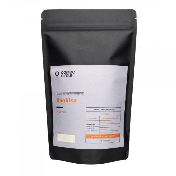 Bookisa Kaffee 1kg ganze Bohne von Coffee Circle