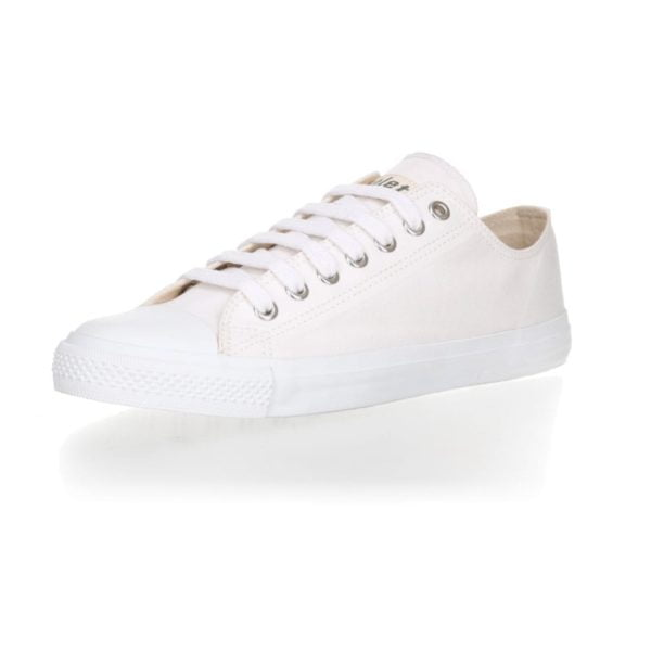 Fair Trainer  White Cap Lo Cut Collection 18 Just White Just White von Ethletic