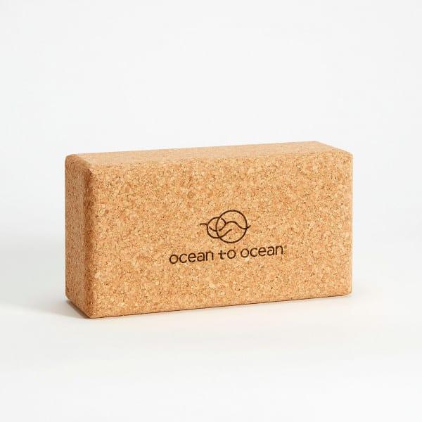 Yogablock - Kork M von Ocean to Ocean