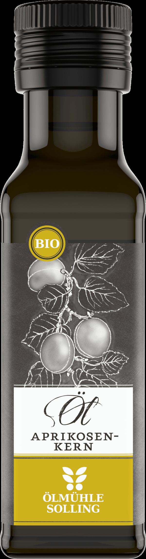 Aprikosenkernöl nativ 100 ml von Ölmühle Solling