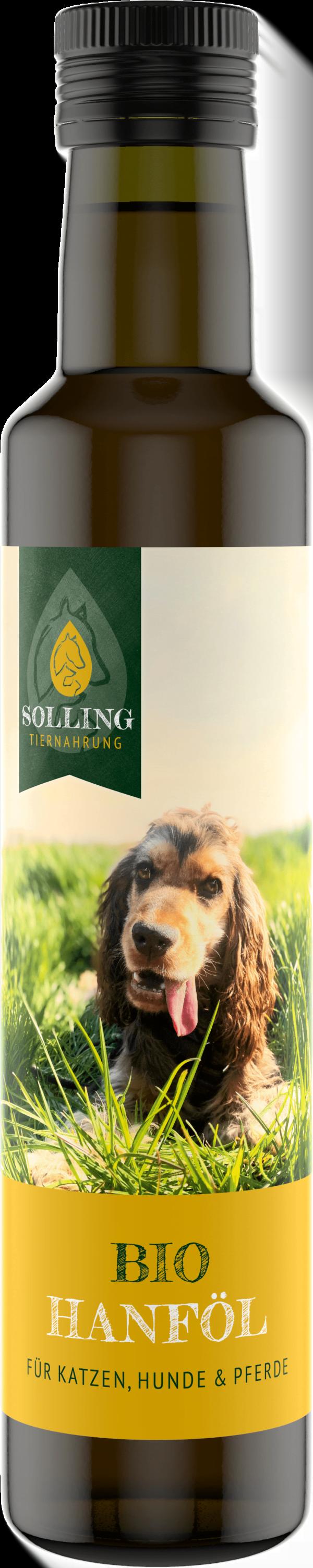 Hanföl für Tiere Futterergänzung für Hunde