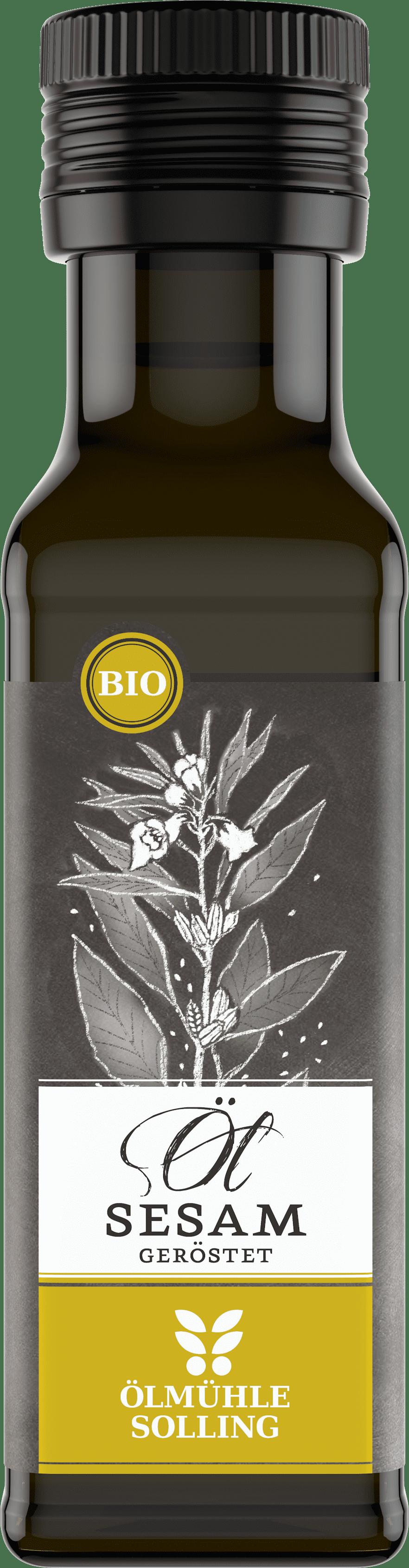 Sesamöl geröstet 100 ml von Ölmühle Solling