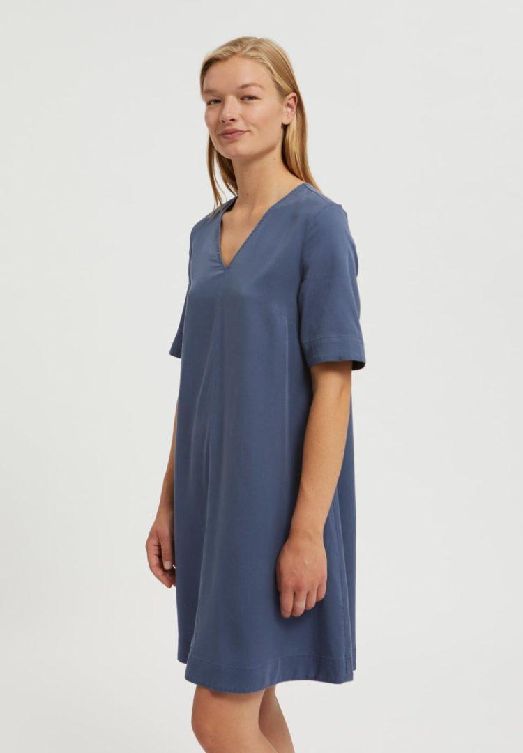Kleid Aamaya In Foggy Blue von ArmedAngels