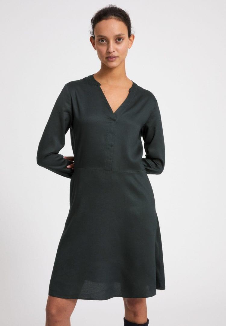 Kleid Ceylonaa In Vintage Green von ArmedAngels