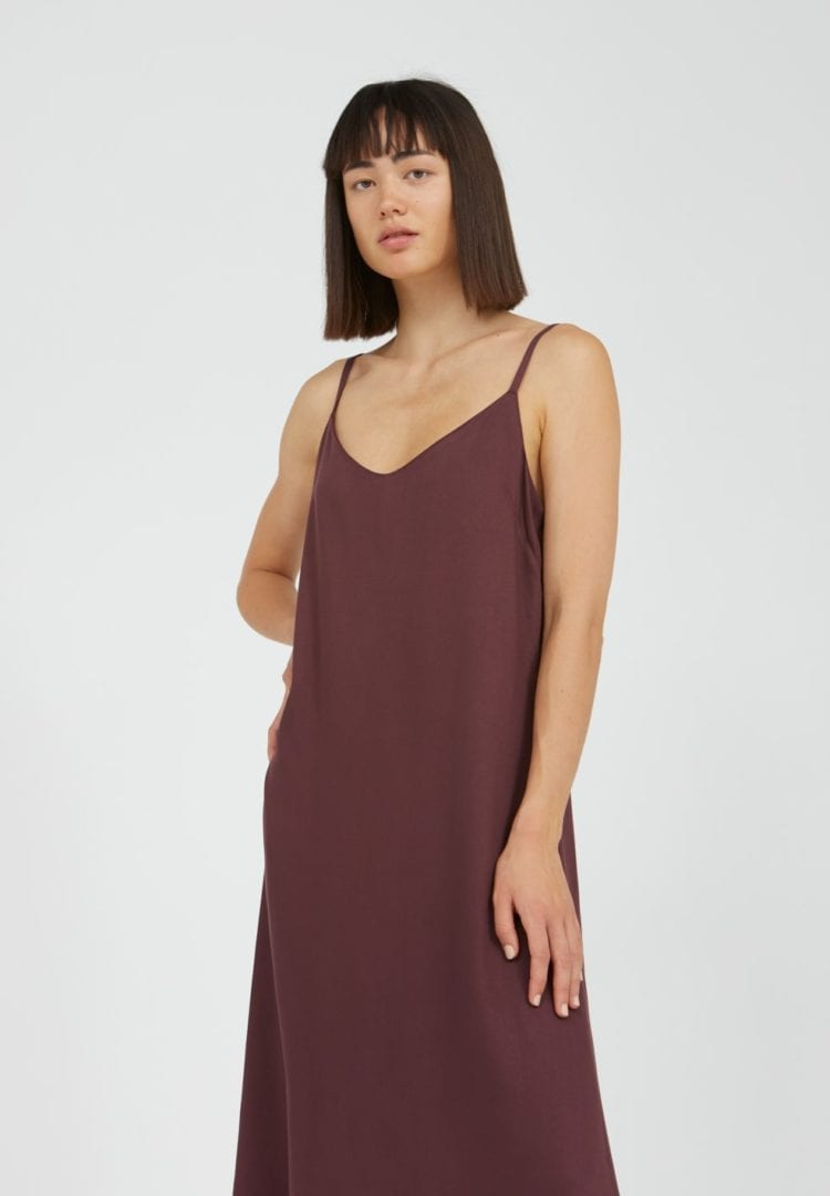 Kleid Gaelaa In Aubergine von ArmedAngels