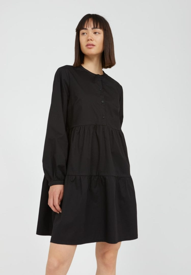Kleid Kobenhaavn In Black von ArmedAngels