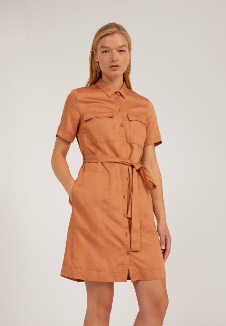 Kleid Mirvaa In Toasted Hazel von ArmedAngels