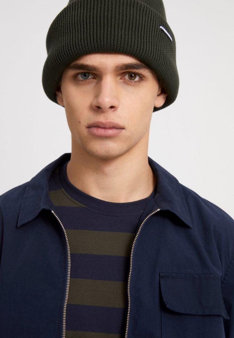 Mütze Faabio Soft In Dark Pine von ArmedAngels