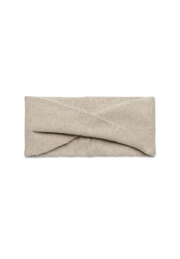 Stirnband Martiaa Recycled Wool In Dark Caramel Melange von ArmedAngels