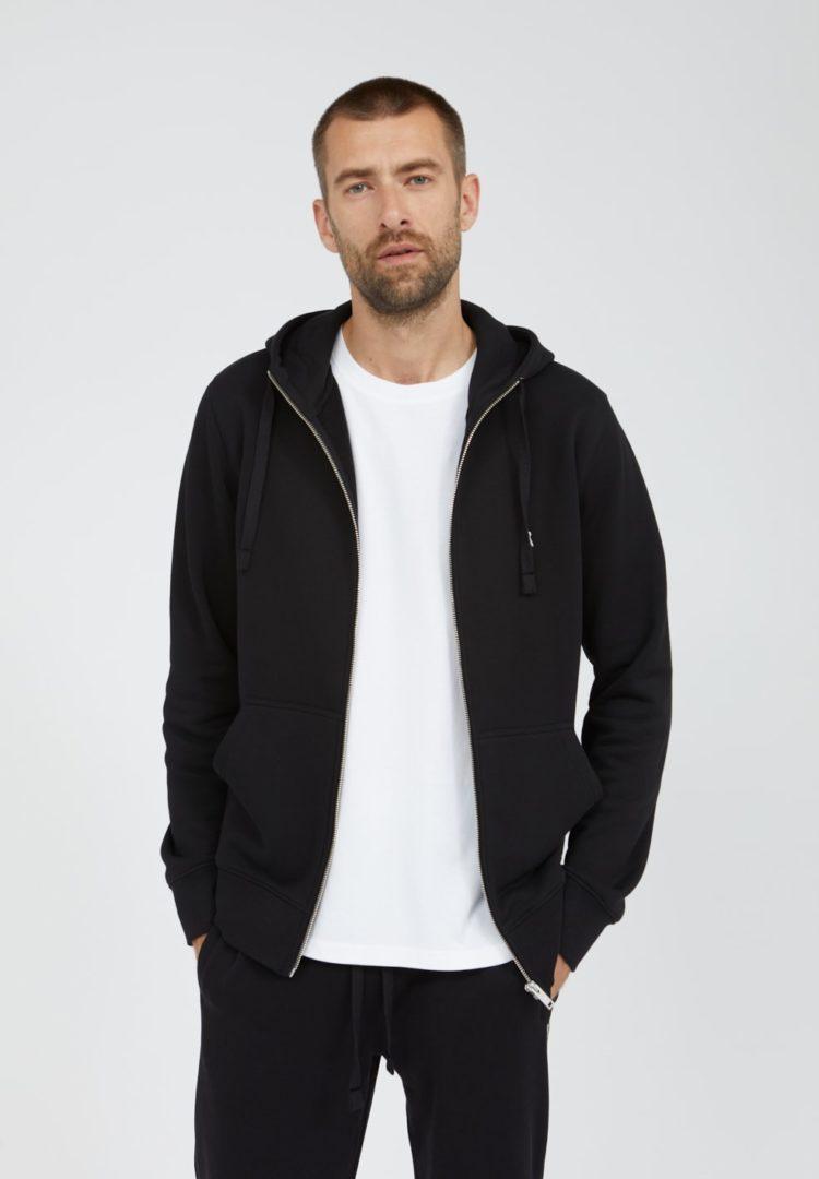 Sweatjacke Gaaston Comfort In Black von ArmedAngels