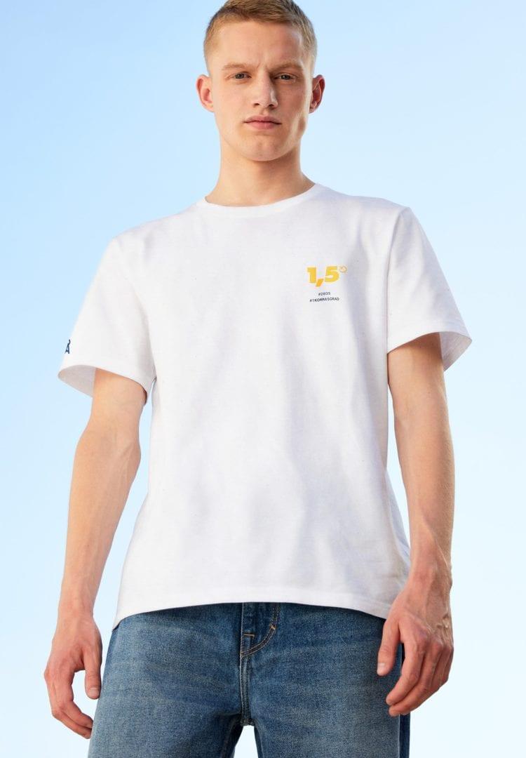 T-shirt Aado Circular 1.5 In Recycled White von ArmedAngels