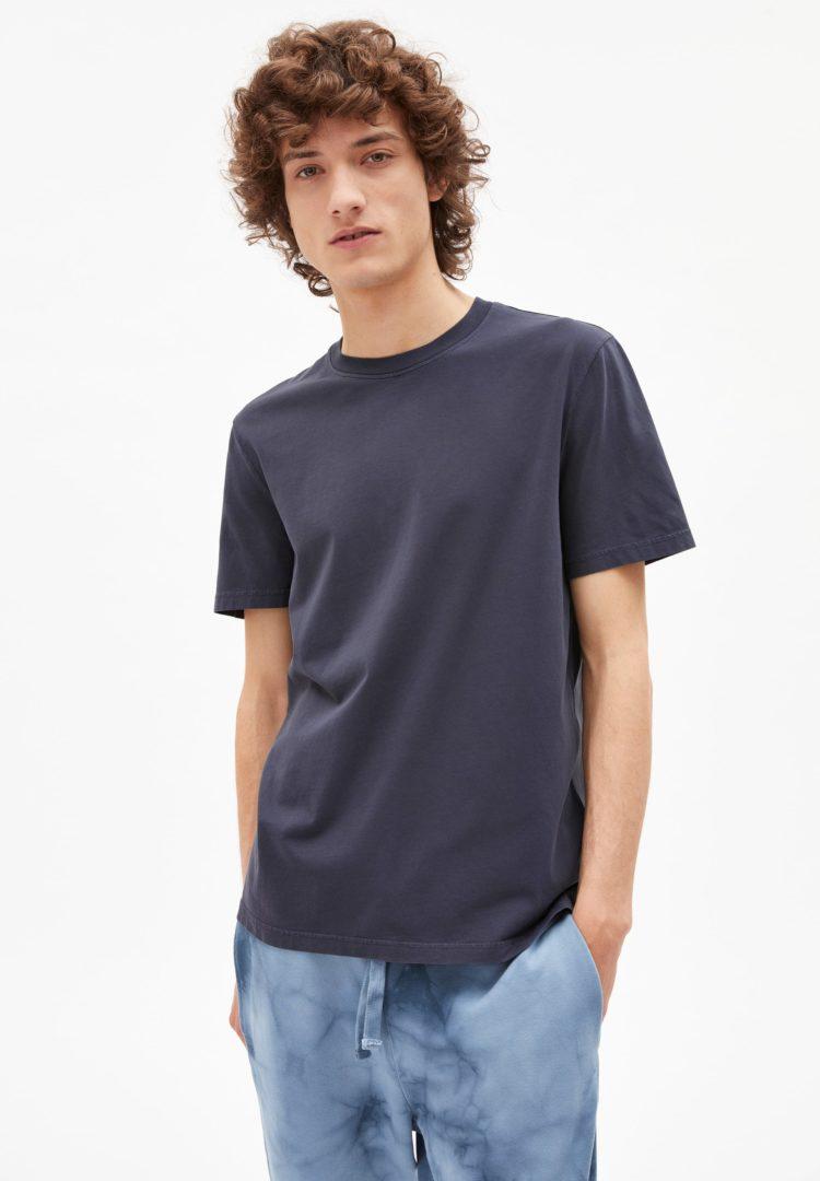 T-shirt Aado Earthcolors® In Natural Indigo von ArmedAngels