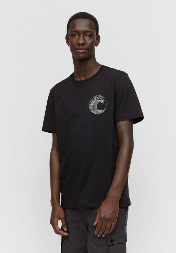 T-shirt Aado Save Our Ocean In Black von ArmedAngels