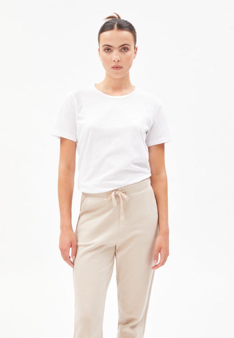 T-shirt Maraa In White von ArmedAngels