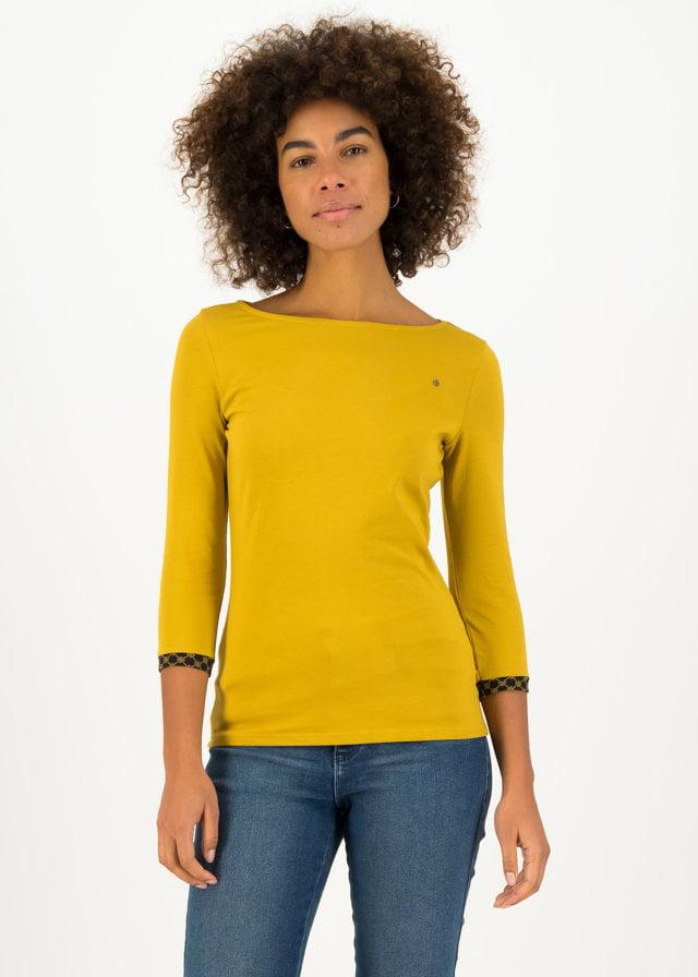 Jersey Shirt Oh Marine Gelb von blutsgeschwister