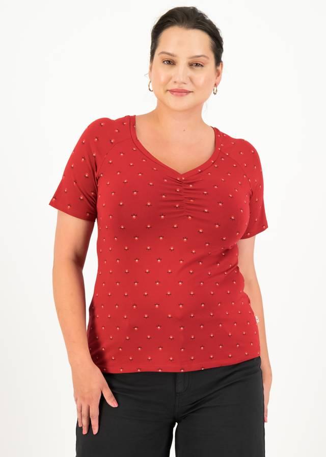 Jersey T-shirt Savoir-vivre Rot von blutsgeschwister